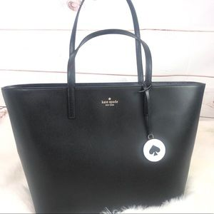 NWT KATE SPADE Black Tonya Tote purse